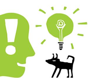 dog with idea7